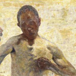 Pierre Bonnard's Le Boxeur