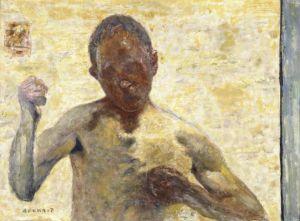 Le Boxeur (autoportrait) Oil on canvas. 1931. Musee d'Orsay, Paris