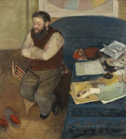 Edgar Degas – Portrait of Diego Martelli