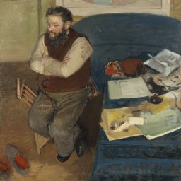 Edgar Degas – Portrait of Diego Martelli